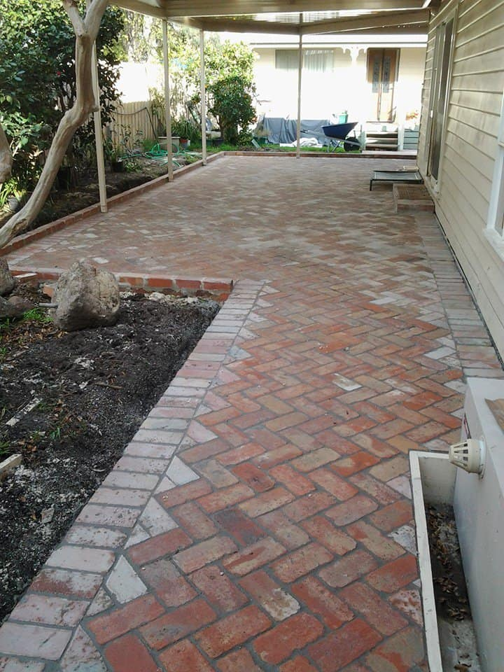 Recycled Brick Paving Kay S Paving And Landscaping